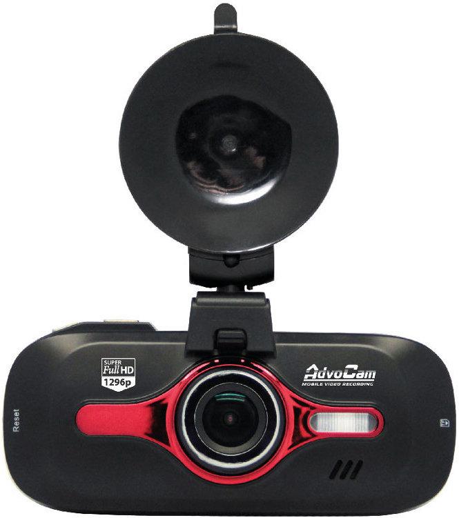Видеорегистратор AdvoCam FD8 Red-II (GPS+ГЛОНАСС) (черный)
