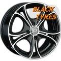 Диск колесный LS Wheels 393 7.5x17/5x114.3 D73.1 ET45 BKF - фото 1