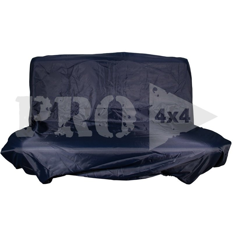Грязезащитный чехол на заднее сиденье PRO-4x4 MEDIUM синий