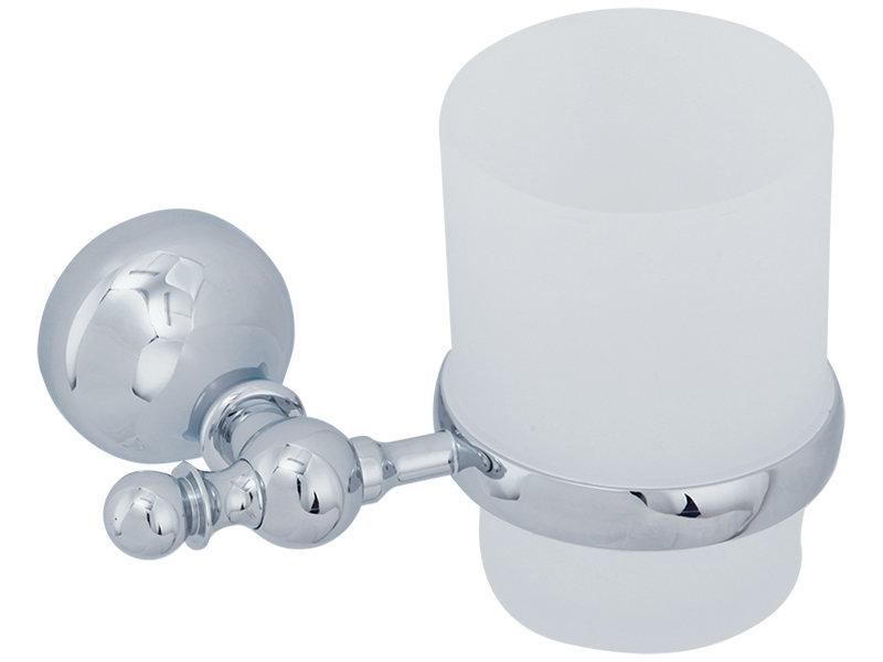 Стакан для ванны VERAGIO GIALETTA VR.GIL-6440.CR Стакан настенный, хром/стекло