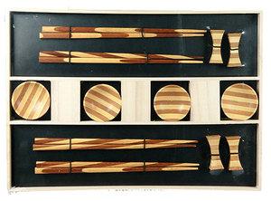 Набор для суши на 4 персоны, 33x21x3 см