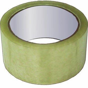Скотч упаковочный, прозрачный, толщина, 40 мкр, 48 мм х 36 м