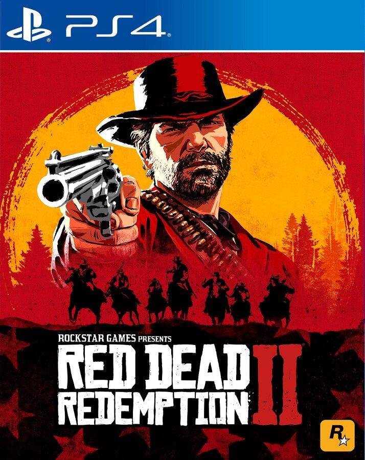 Игра для PlayStation 4 Red Dead Redemption 2 русские субтитры