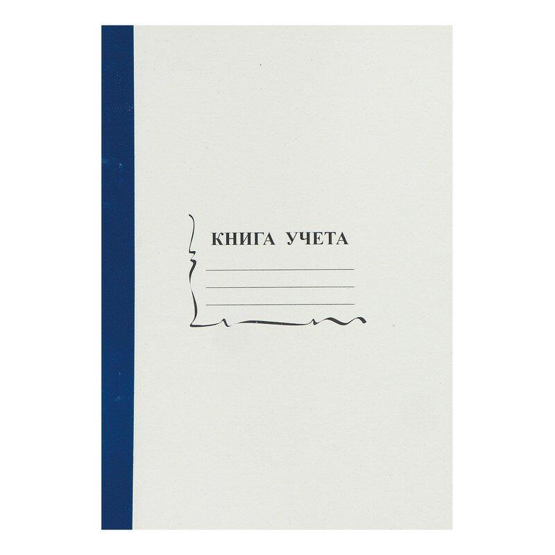 Бухгалтерская книга учета 96 листов пустографка обложка - картон