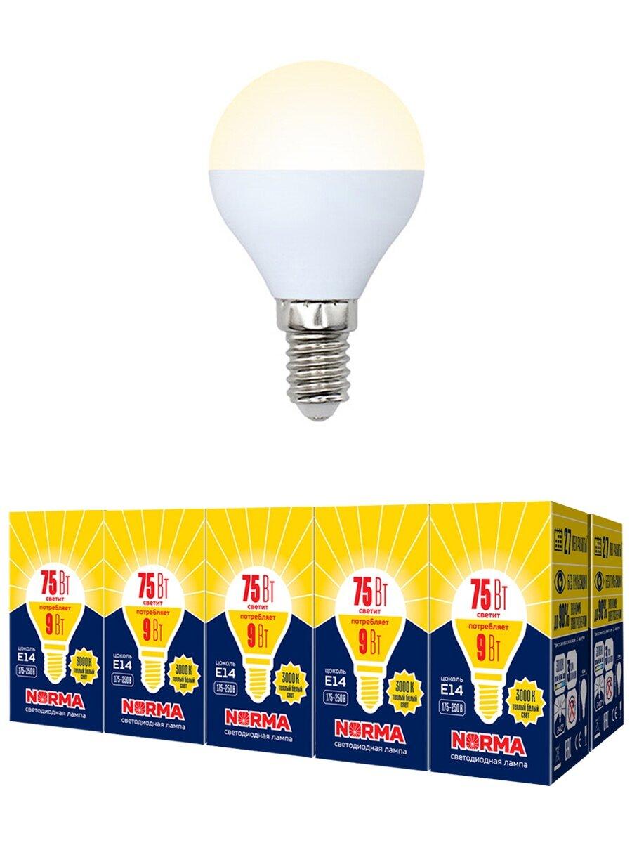 Лампа VOLPE E14 9Вт 3000K — купить по выгодной цене на Яндекс.Маркете