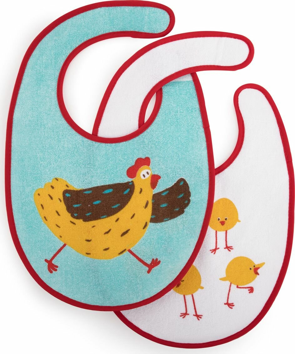 Happy Baby Набор нагрудников Set Terry Bibs