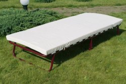 Раскладушка (раскладная кровать) с матрасом Анжелика