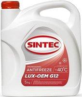 антифриз sintec lux красный g-12 5кг