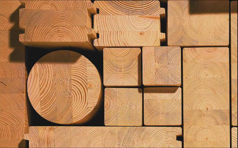 Брус клееный 100х200х6000 купить в лесовике