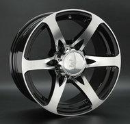 Диск LS Wheels 165 7,5x17 6/139,7 ET0 D107,1 BKF - фото 1