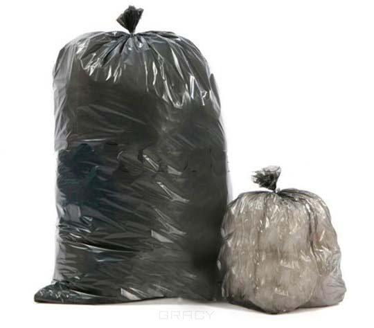 Igrobeauty Пакеты для мусора с завязками, синие, 10 шт, 120 л