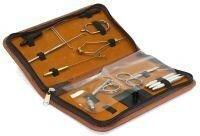Набор инструментов для вязания мушек с держателем в чехле Kosadaka
