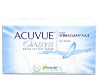 Acuvue® Oasys® with Hydraclear® Plus (24 линзы)