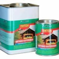 Мастика битумно-каучуковая Питон 1000мл Анлес 4601567002382
