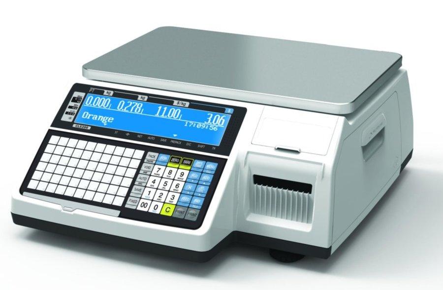 Весы с печатью этикеток CAS CL-3000B (15 кг)