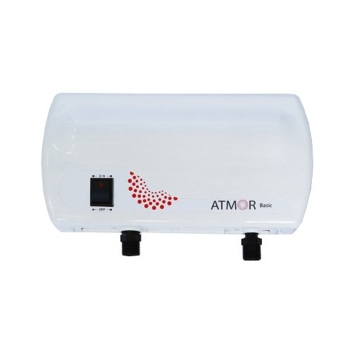 Проточный водонагреватель Atmor Basic 3.5 кран