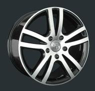 Диски Replay Replica Audi A26 9x20 5x130 ET60 ЦО71.6 цвет BKF - фото 1