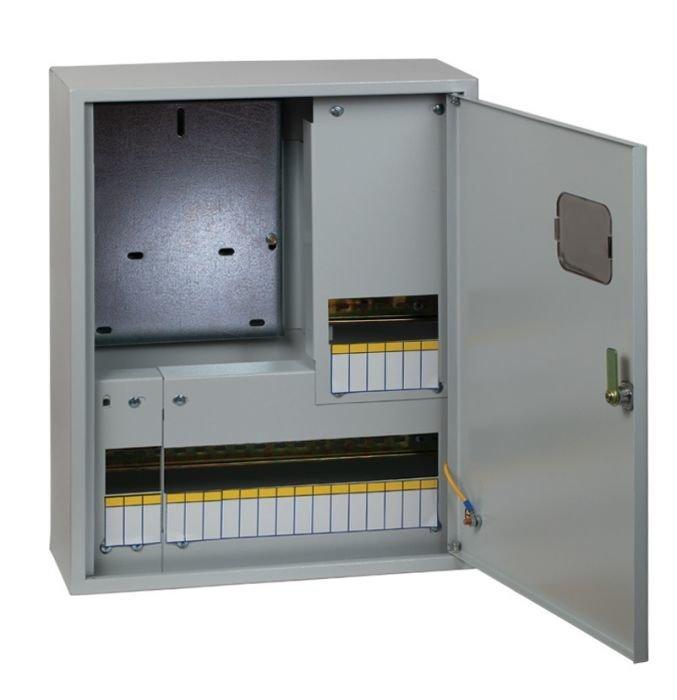 Щит учетно-распределительный навесной EKF ЩРУн-1/12о IP31 с окном 400x300x140 mb23-1/12