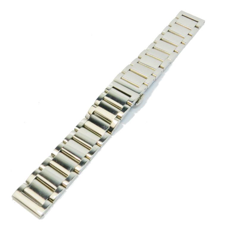 Литой браслет из стали для часов Braslet LM33 18мм