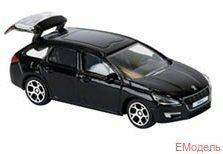 205325g Игрушка масштабный автомобиль Peugeot 508 SW 1:64
