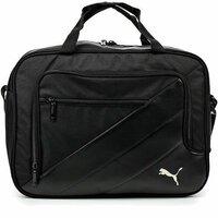 891b9637ec70 Сумка спортивная Puma Team Messenger Bag, -, черный, полиэстер