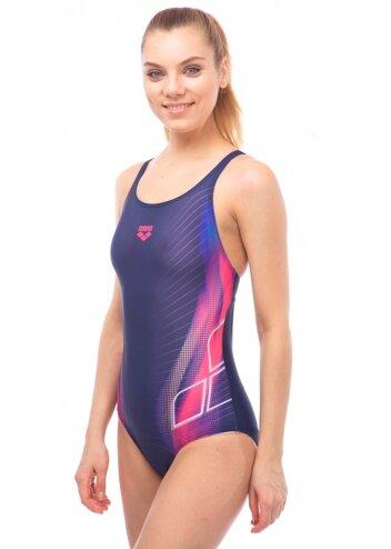 Купальник слитный Arena Briza Swim Pro, фиолетовый