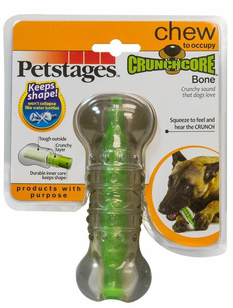 """Игрушка для собак Petstages """"Хрустящая косточка"""", длина 14 см. 265YEX"""