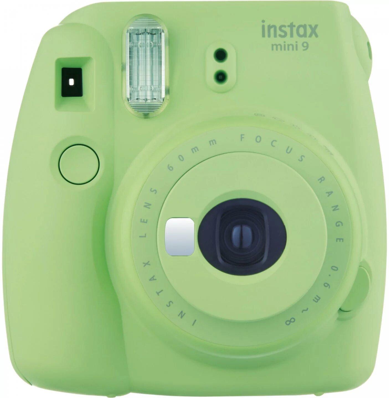 Фотоаппарат моментальной печати Fujifilm instax mini 9, зеленый