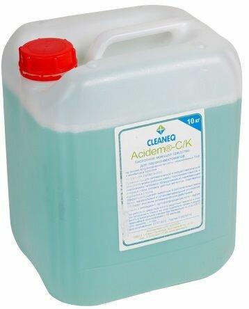 Моющие средства Кислотное ополаскивающее ср-во т.м. CLEANEQ серии Acidem R/CJ для пароконвектоматов, 10 кг