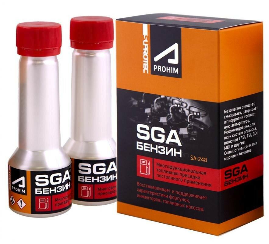 Супротек Многофункциональная присадка к бензину «SGA» 2*50мл