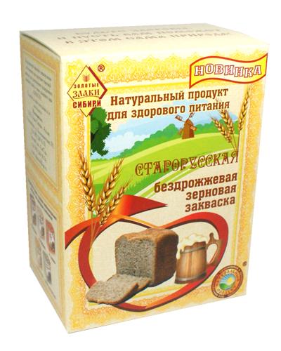 Закваска зерновая для хлеба и кваса