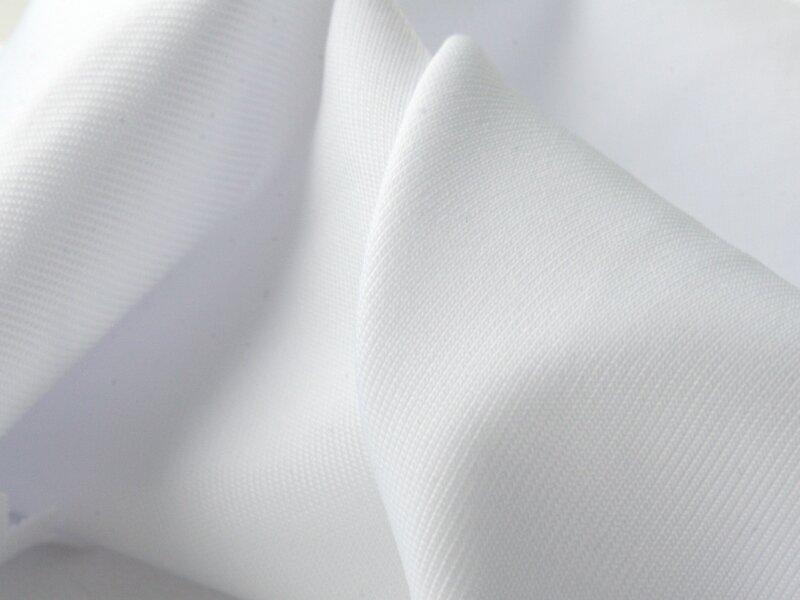 Ткань Текстэль Бифлекс Матовый Стрейч Премиум, Нейлон, 230 г/кв.м, 152 см (Белый Аист) (21 пог.м)