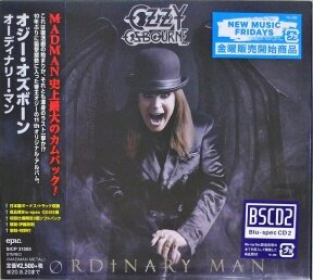 Osbourne, Ozzy - Ordinary Man/ Blu-spec CD2 [Digisleeve in Slipcase/Cardboard Sleeve/16 Page Booklet/2 Bonus Tracks/Obi Strip][Limited Japan Deluxe Edition](Original, 1st Japan Press, 1st Edition 2020)