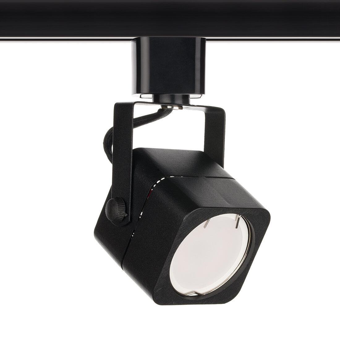 Светильник трековый CITY-MR16 GU5,3 Черный алюминиевый корпус Квадрат 2TRA Однофазный