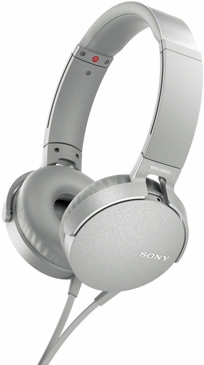 Наушники Sony XB550AP Extra Bass, белый