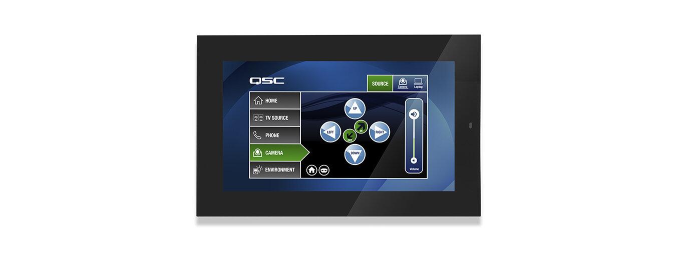 Сенсорный контроллер QSC QSC TSC-80W-G2-BK / Q-SYS 8.0 PoE