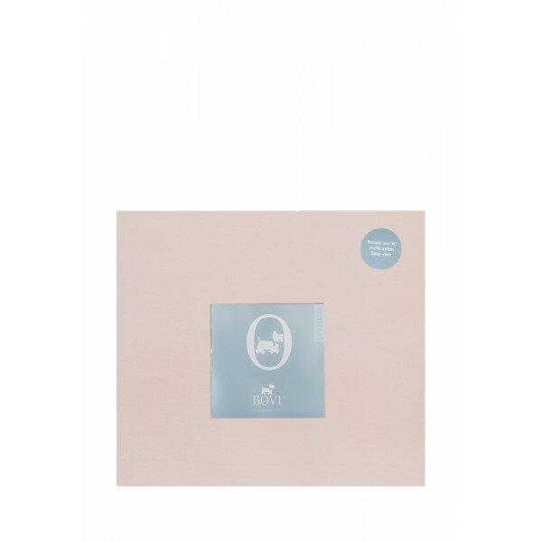 Простыня свободная «Акцент» (цвет: пудрово-розовый, 220х240 см, перкаль)
