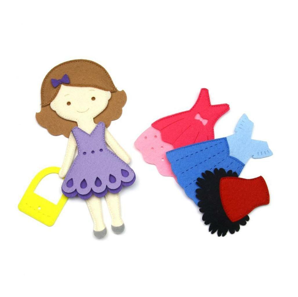 Игровой набор Фетров Одень куклу Маленькая модница — купить по выгодной цене на Яндекс.Маркете