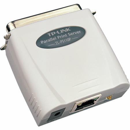 Принт-сервер TP-LINK TL-PS110P Single parallel port fast ethernet print server