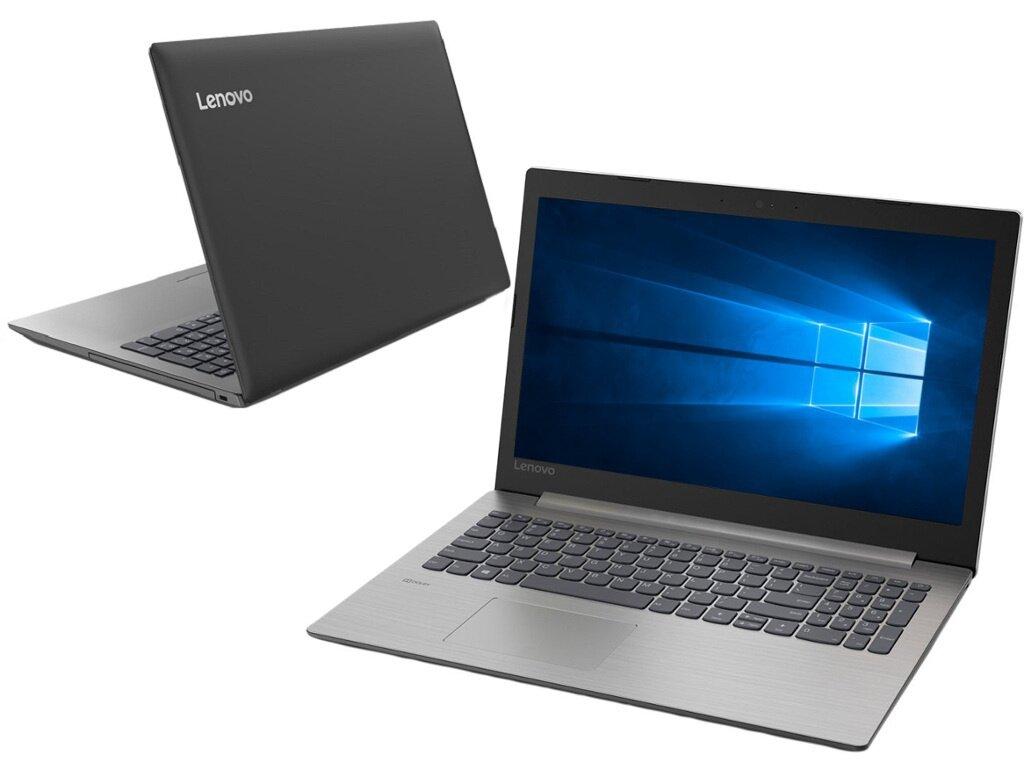 Ноутбук Lenovo IdeaPad 330-15IKBR Black 81DE00W3RU (Intel Core i3-8130U 2.2 GHz/6144Mb/1000Gb+128Gb SSD/nVidia GeForce MX150 2048Mb/Wi-Fi/Bluetooth/Cam/15.6/1920x1080/Windows 10 Home 64-bit)
