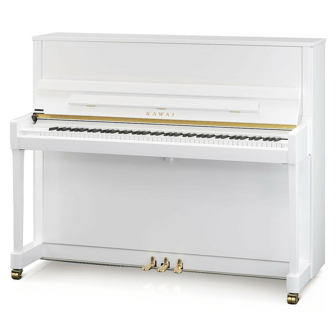 KAWAI K-300 WH/P, цвет белый полированный (Акустические пианино)