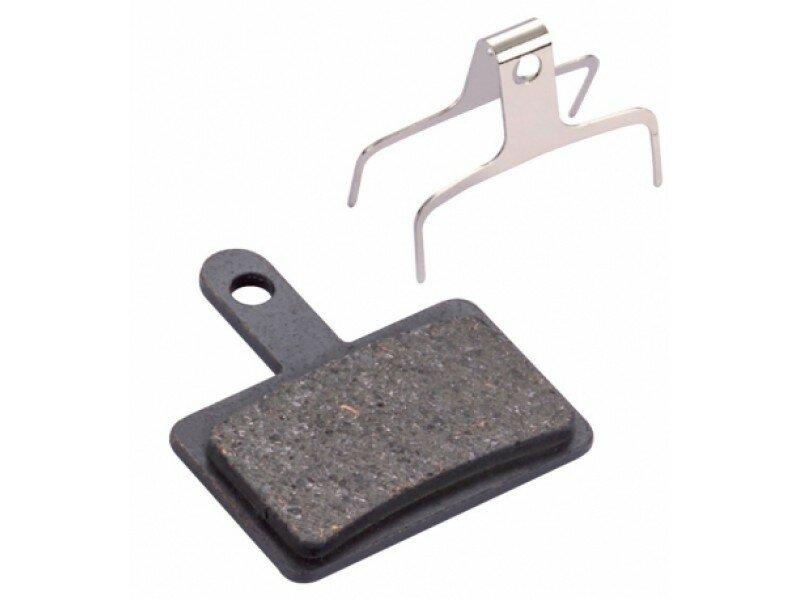 Колодки тормозные Baradine ds-10 металло-органика, для дискового тормоза Shimano, Tektro