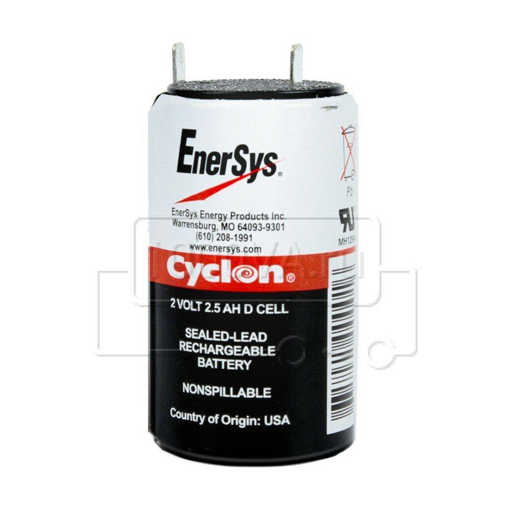 АКБ Enersys Cyclon D cell 2V 2,5Ah (2В,2,5Ач / 2V, 2,5Ah)