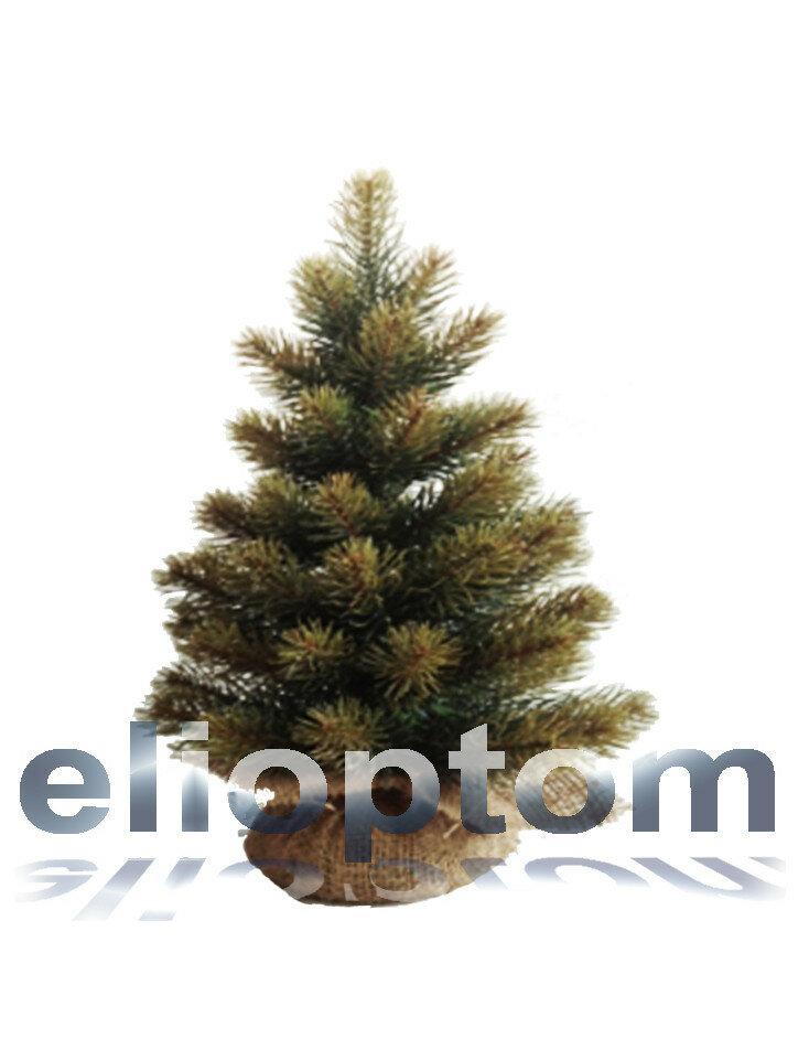 Ель Маг в мешочке 40 см двухцветная хвоя 100% PE-резина Царь Елка