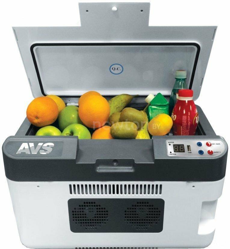 Термоэлектрический автохолодильник AVS CC-24WBC 24л