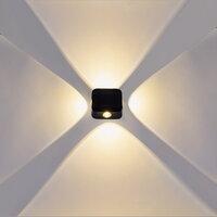 Интерьерный настенный светильник Reluce 86007-9.2-004TL LED4*3W BK