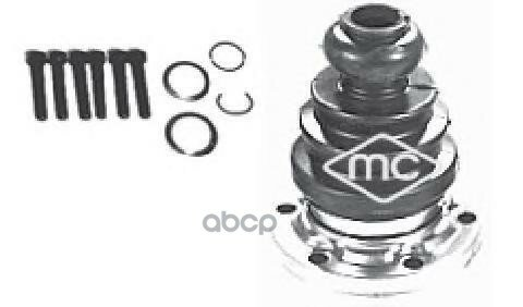 Пыльник шруса vw t-4/ audi 100 c3/с4/80 b2/b4/a4/a6 внутр 02308 METALCAUCHO арт. 02308