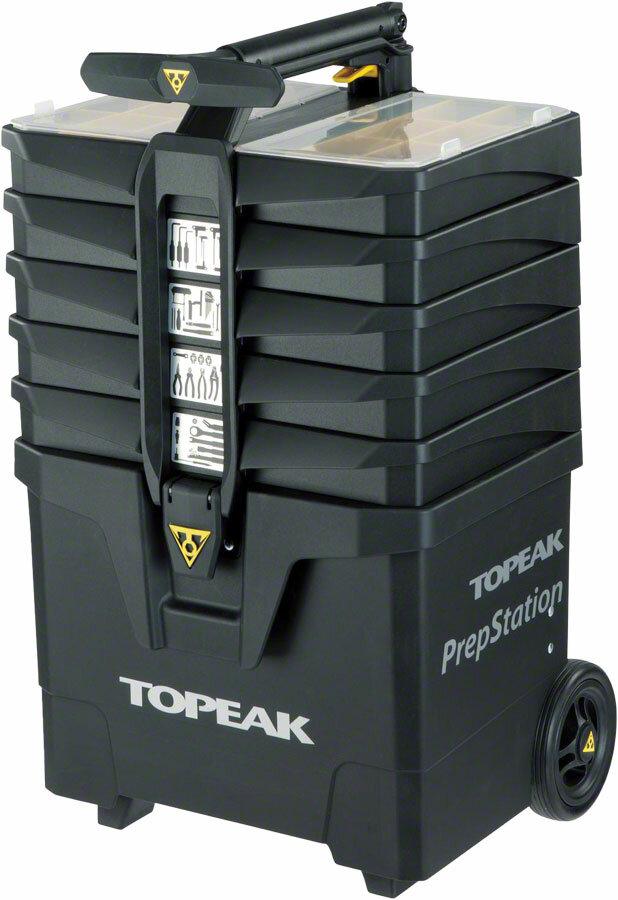 Профессиональный инструмент Мобильный набор Topeak PrepStation, 52 инструмента