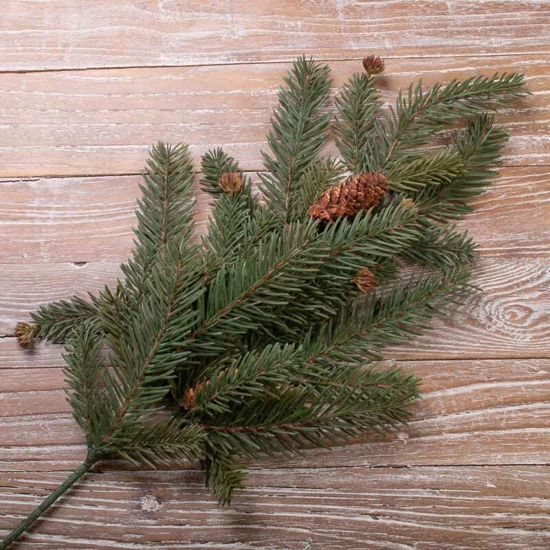 Искусственное растение Fir Spray Green 55 cm