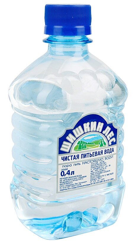 Шишкин Лес вода минеральная негазированная 0,4л